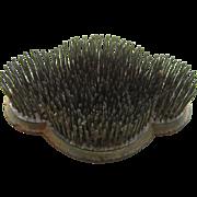 Vintage Metal Pin Spike Flower Flog, Scarce Unusual Shape
