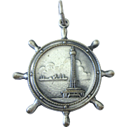 Memory of Yokohama Marine Tower Medal or Pendant, Numbered