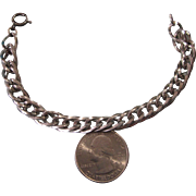 """Sterling Silver and Turquoise Dangles 10-1/2"""" Anklet Ankle Bracelet"""