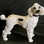 Vintage Coopercraft Standard Poodle from England