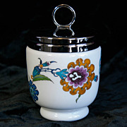 Royal Worcester Egg Coddler - Palmyra pattern