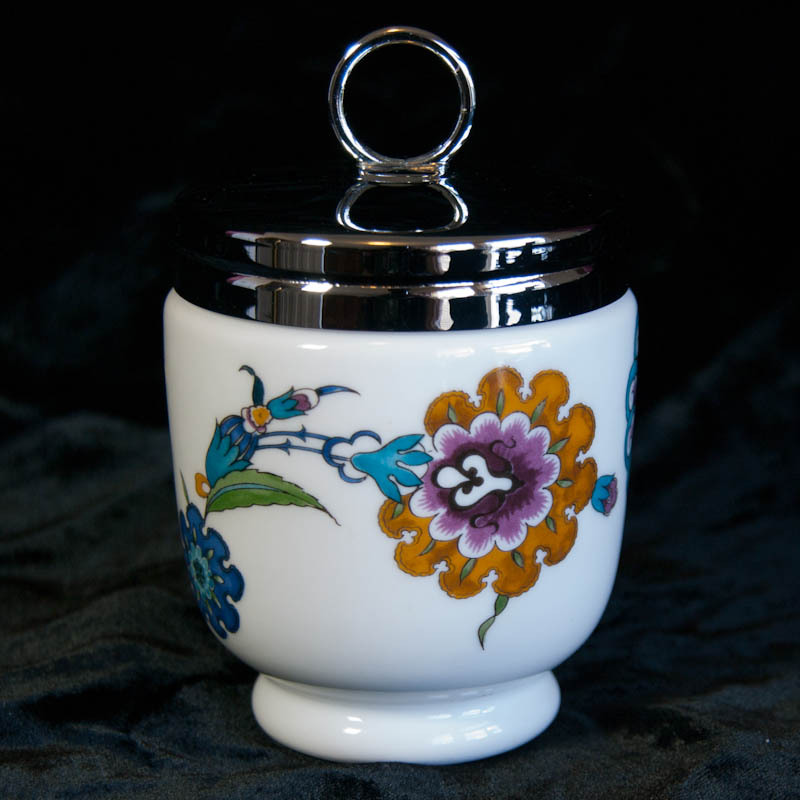 Royal Worcester Egg Coddler Palmyra Pattern Art Tiques