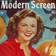 Shirley Temple - Modern Screen Magazine - November 1944 - Includes Judy Garland, Gene Kelly, June Allyson
