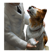 "Royal Doulton HN2731 ""Thanks Doc"" Figurine - Veterinarian and Dog"