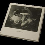"""Vintage Gladding McBean Hermosa Tile - """"Cupid Disarmed"""" - ca 1950"""