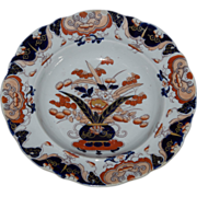 Masons Ironstone Patent Soup Bowl or Deep Plate ca. 1840
