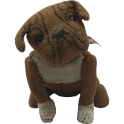 "Rare Steiff Bulldog After Buster Brown ""Tige"" early 1900s"