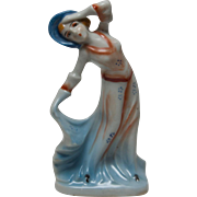 Occupied Japan Art Deco Style Lady Figurine - Red Tag Sale Item
