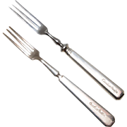 Pair of Canadian Pacific Shrimp Forks
