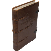 Wonders of Italy - Gorgeous 1930 Leather Book
