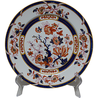 Browne, Westhead, Moore & Co. Ironstone Plate