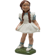 Jessie Grimes California Pottery Little Girl Figurine