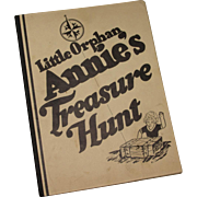 Scarce - Little Orphan Annie's Ovaltine Treasure Hunt Game - 1933 with original mailer