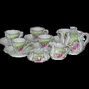 Antique Doll or Child's Porcelain Tea Set