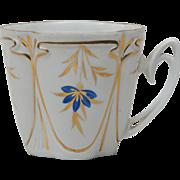 Bavarian Coffee Cup - Flower shape