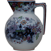 Ridgway Flow Blue Pitcher - Corey Hill