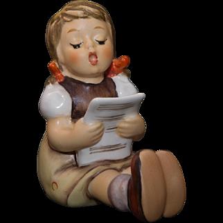 Hummel Figurine Girl with Sheet Music #389 - Original Box