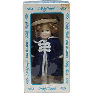 Ideal Shirley Temple 'Poor Little Rich Girl' in Box