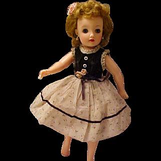 """Miss Revlon dress and crinoline pink TLC for 18"""" doll vintage 1950's"""