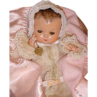 "Beautifully restored 11"" Effanbee Patsy Baby Must C Wow"