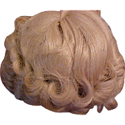 Vintage never used Shirley Temple doll wig size 8 USA - Red Tag Sale Item