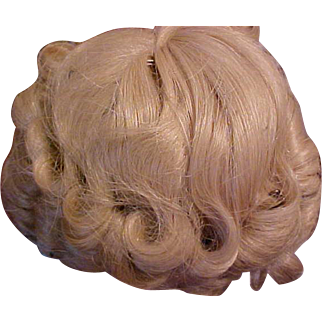 Vintage never used Shirley Temple doll wig size 8 USA