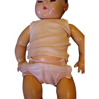 """Original snap rubber pants and undershirt for 20"""" Dydee Baby doll"""