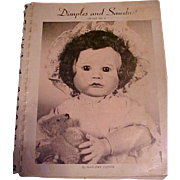 Dimples and Sawdust Volume No 2 by Marlowe Cooper signed 1968