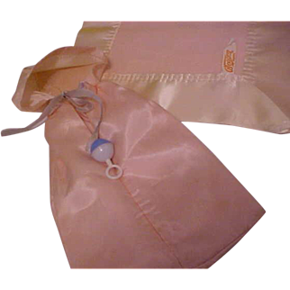 """Rare and HTF Pink original lined bunting for 11"""" Dy-Dee-Ette Dy-Dee Ellen Baby doll"""