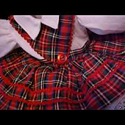 "Dress for 14"" Ideal Toni doll pristine"