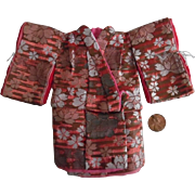 Vintage Japanese Salesman's Sample Miniature Lady's Kimono