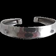 Vintage Sterling Napier Tapered Cuff Bracelet