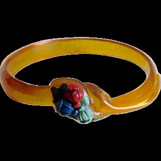 Roaring 20's Flapper Celluloid Snake Bracelet