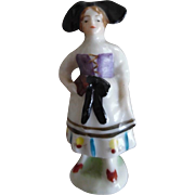 Victorian Dollhouse Miniature Porcelain Dollhouse Lady