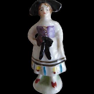 Victorian Dollhouse Miniature Porcelain Dollhouse Lady