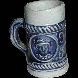 Victorian Dollhouse Miniature Porcelain Stein