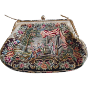 Vintage Austrian Micro Petite Point Purse