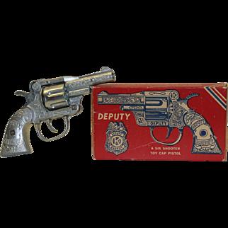 VintageKilgore Toy Deputy Six Shooter Cap Gun