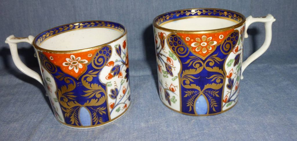 Pair of Darby coffee cans