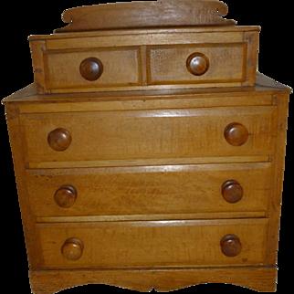 Miniature Pine chest