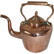 # 1265 Miniature Copper Tea kettle