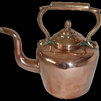 # 1265 Miniature Copper Tea kettle