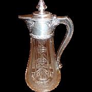 # 1270  800 silver Claret Jug