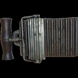 Fluting iron # 1342