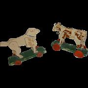 Folk Art Pull Toys