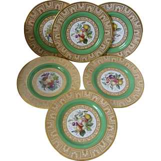 Spode Copeland Cabinet plates  # 158