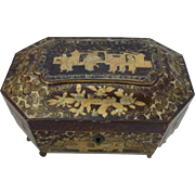 Chinese Export Tea Caddy     # 200