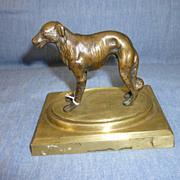 Bronze Borzoi