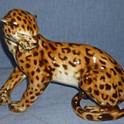 Royal Dux Leopard