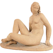 Waylande Gregory Art Deco Sculpture of Nude Woman Depression Era